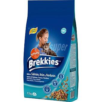 Brekkies Affinity Para gato con pescado y verduras Bolsa 1,5 kg