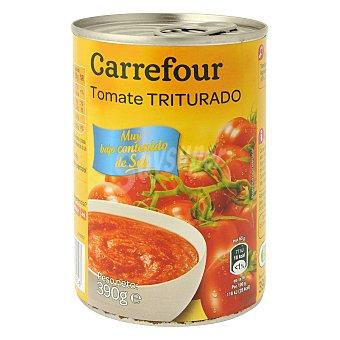 Carrefour Tomate triturado bajo en sal 390 g
