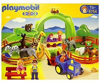 Playmobil Conjunto de Juego, Playset Mi primer zoo, Modelo 6754 1 Unidad