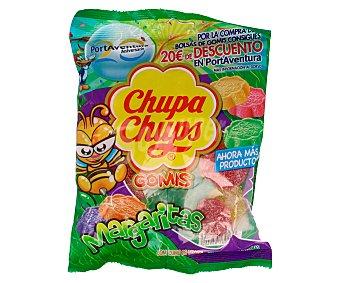 Chupa Chups Gominolas margaritas con zumo de limón y aromas naturales  Bolsa 175 g