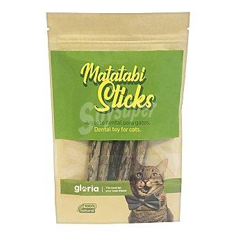 Gloria Juguete dental para gatos Matatabi Sticks Bolsa 5 unidades