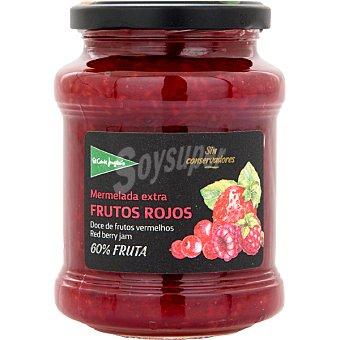 El Corte Inglés Mermelada de frutos rojos extra 60% fruta Tarro de 410 g