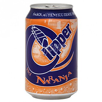 Clipper Refresco de naranja 33 cl