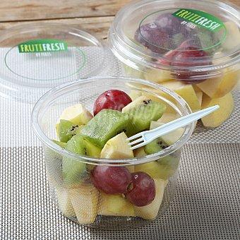 Kiwi, uva y manzana golden cortada en Vaso de 200 g