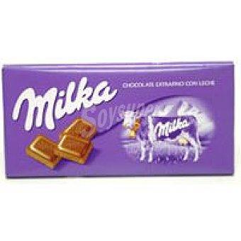 Milka Chocolate con leche extrafino Tableta 125 g + 25 g