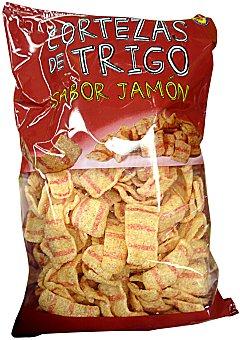HACENDADO Aperitivo corteza de trigo sabor jamón PAQUETE 100 g