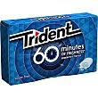 Chicle menta 60 minutes Paquete 20 g Trident