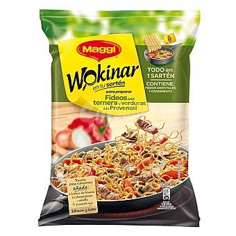 Maggi Pasta con ternera y verduras wokinar  Bolsa 185 g