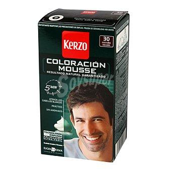 Kerzo Coloración Mousse 30 Castaño Oscuro 1 ud