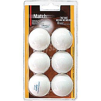 ENEBE Match set de 6 pelotas de ping-pong