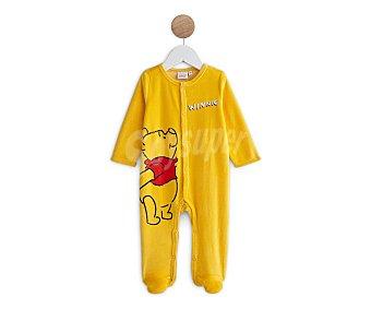 DISNEY Winnie the Pooh Pelele largo de terciopelo para bebé Talla 86.