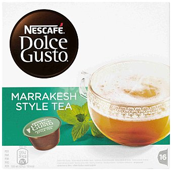 Dolce Gusto Nescafé Té marrakesh style tea  Caja 16 cápsulas