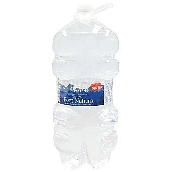DIA Agua mineral natural Botella 5 lt