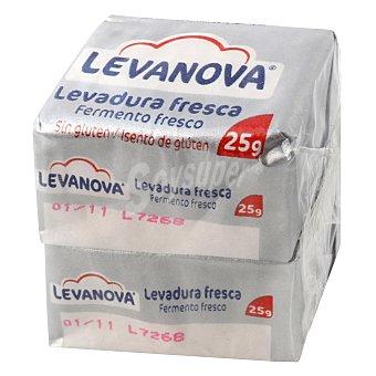 Levanova Levadura fresca sin gluten Pack 2x25 g