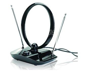 Auchan Antena de interior AV978 para señal de tdt, hasta 30 dB de ganancia 1 unidad