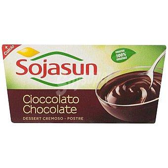 Sojasun Postre soja chocolate Pack 2x100 g