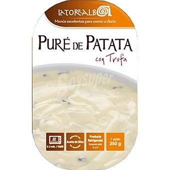 La Torralba Puré de patata con trufa refrigerado Envase 250 g