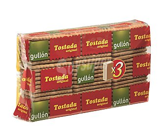 GULLÓN Galleta Tostada Clásica 400 gramos