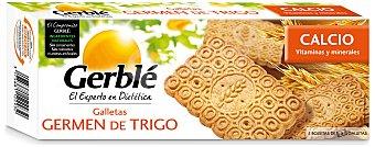 Gerblé Galletas de germen de trigo con calcio envase 210 g Envase 210 g