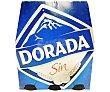cerveza sin alcohol pack 6 botella 25 cl pack 6 25 cl Dorada