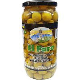 Faro Aceitunas sabor manzanilla natural Frasco 550 g