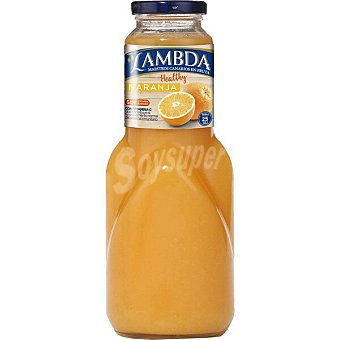 Lambda Zumo de naranja light botella 1 l 1 l