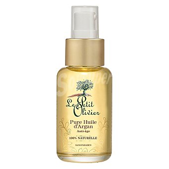 Le Petit Olivier Puro aceite de argán 100% bio para rostro, cabello y cuerpo 50 ml