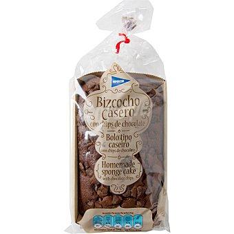 Hipercor Bizcocho casero con chips de chocolate Envase 240 g