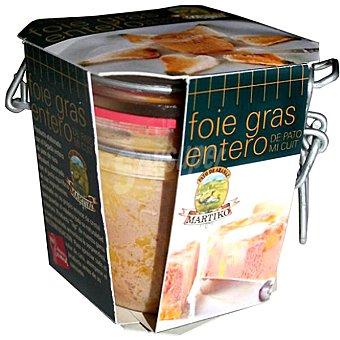 Martiko Foie gras entero de pato mi cuit Frasco 200 g