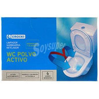 Eroski Limpiador wc polvo activo Paquete 330 g