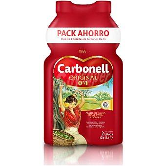 Carbonell Aceite de oliva 0,4 Pack 2 botellas x 1 l
