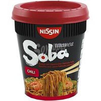 SOBA NISSIN Fideos Noodles Salsa Japonesa Yakisoba Chili 90g