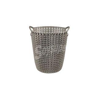 Curver Cesta de ordenación de Plástico knit 27 x 23 x 24 cm - Marrón 1 ud