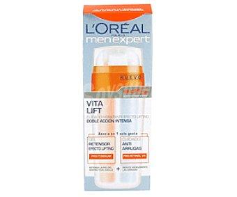 Men Expert L'Oréal Paris Menú Expert Vitalift Doble Cuidado 50 Mililitros