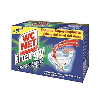 WC Net Limpiador WC en polvo energy activo 4 bolsas de 252 gr