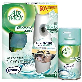 AIR WICK FRESH MATIC Ambientador automático Nenuco lote ahorro aparato + 2 recambios