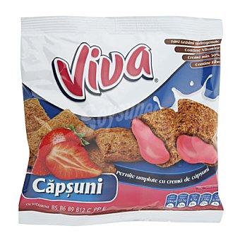 VIVA Galleta de fresa Paquete 100 g