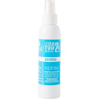 Cristalmina Hospital 05% Alcoholica antiseptico de la piel sana Spray 125 ml