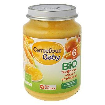 Carrefour Bio Tarrito de pollo con arroz 200 g