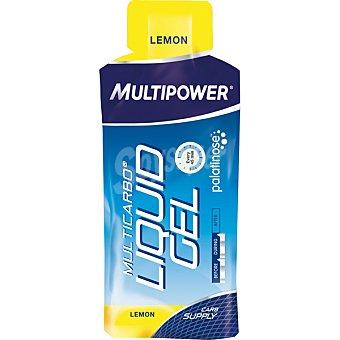 MULTIPOWER Multicarbo gel líquido suplemento con carbohidratos sabor limón  envase 65 g