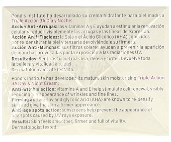 Pond's Crema hidratante de dia y noche de triple acción, para pieles maduras 50 ml
