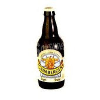 Grimbergen Cerveza belga triple Botellín 33 cl