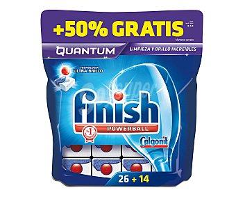 Finish Detergente en pastillas para lavavajillas 35 pastillas