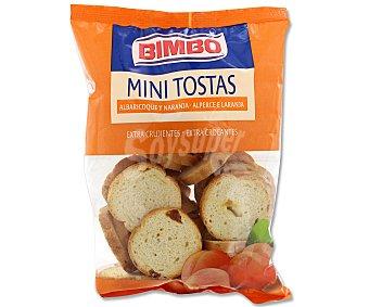 Bimbo Mini tostas de albaricoque y naranja bolsa de 100 gramos