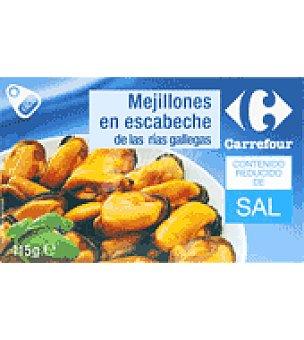 Carrefour Mejillón escabechado bajo en sal 68 g