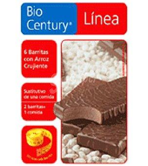 Bicentury Barritas de chocolate con arroz crujiente 210 g
