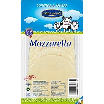 Millan Vicente Queso mozzarella en lonchas sin gluten Envase 150 g
