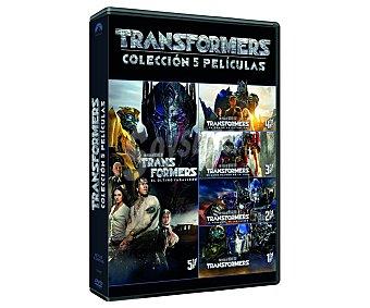 universal Pack Transformers (5 películas), películas en Dvd. Género: Ciencia ficcón, acción, aventuras. Edad: +12 años