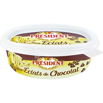 PRESIDENT Mantequilla con chocolate  envase 225 g