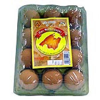 MALLORQUINS Huevos morenos clase M Estuche 1 docena